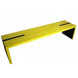 Banc jaune