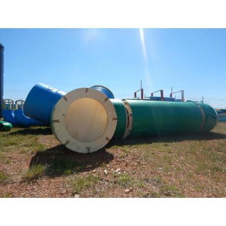Tube structure bois + PVC