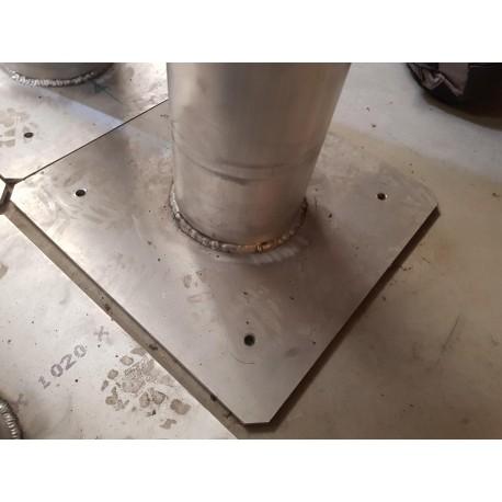 Tubes Aluminium sur platine