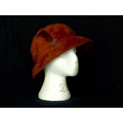 chapeau rond féminin
