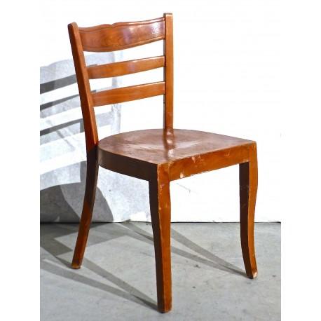 Lots de 3 chaises en bois