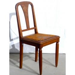 Chaise bois fine
