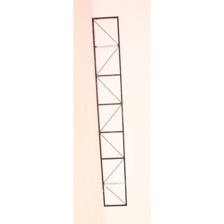 Ferme métallique 25x25