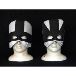 masque noir & blanc