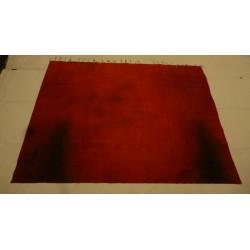 "toile ""fondu rouge"""