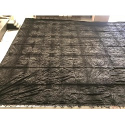 fond noir velours plastifié