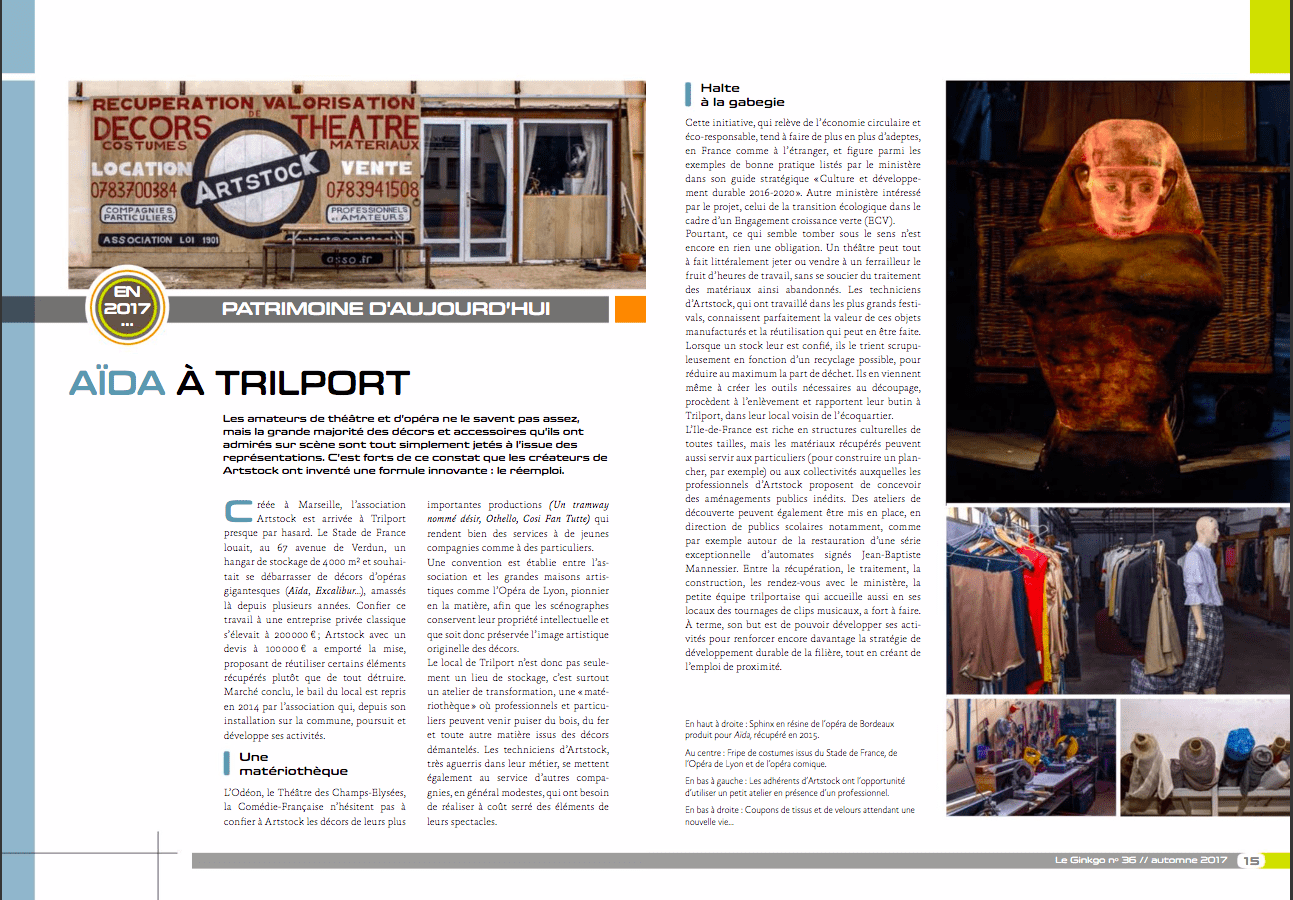 passage artstock sur le bulletin n°36 de trilport